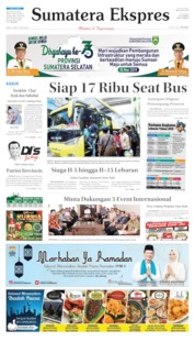 Sumatera Ekspres Cover 18 May 2019