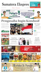 Sumatera Ekspres Cover 22 May 2019