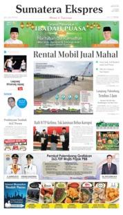 Sumatera Ekspres Cover 25 May 2019