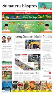 Sumatera Ekspres Cover 27 May 2019