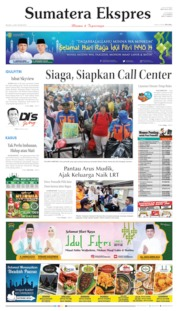 Cover Sumatera Ekspres 04 Juni 2019
