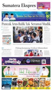 Cover Sumatera Ekspres 10 Juni 2019