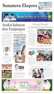 Sumatera Ekspres Cover 11 June 2019