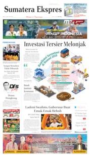 Sumatera Ekspres Cover 12 June 2019