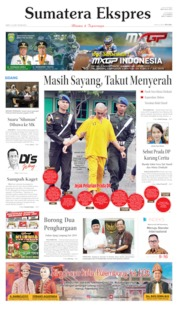 Cover Sumatera Ekspres 15 Juni 2019