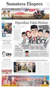 Sumatera Ekspres Cover 16 June 2019