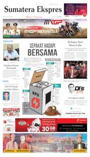 Cover Sumatera Ekspres 17 Juni 2019