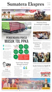 Sumatera Ekspres Cover 18 June 2019