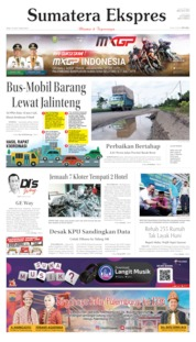 Sumatera Ekspres Cover 19 June 2019
