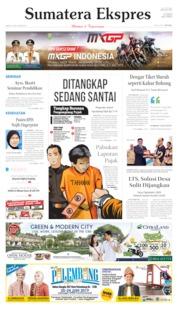 Sumatera Ekspres Cover 21 June 2019