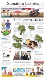 Cover Sumatera Ekspres 23 Juni 2019