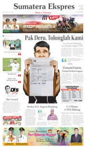 Cover Sumatera Ekspres 30 Juni 2019