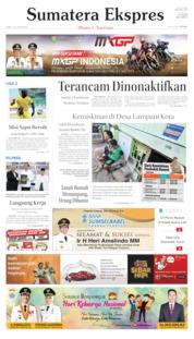 Cover Sumatera Ekspres 01 Juli 2019