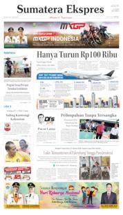 Cover Sumatera Ekspres 02 Juli 2019