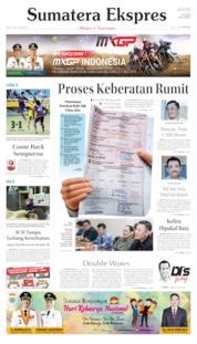 Cover Sumatera Ekspres 03 Juli 2019
