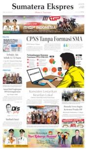 Cover Sumatera Ekspres 04 Juli 2019