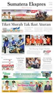 Cover Sumatera Ekspres 06 Juli 2019