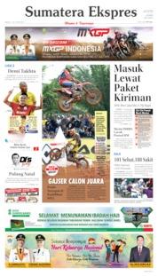 Cover Sumatera Ekspres 07 Juli 2019