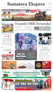 Cover Sumatera Ekspres 08 Juli 2019