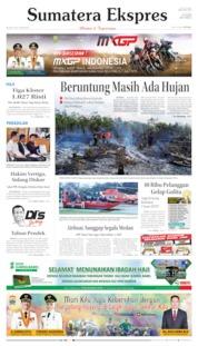 Cover Sumatera Ekspres 09 Juli 2019
