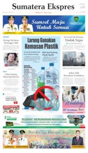 Cover Sumatera Ekspres 10 Juli 2019