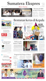 Sumatera Ekspres Cover 14 July 2019