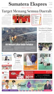 Sumatera Ekspres Cover 15 July 2019