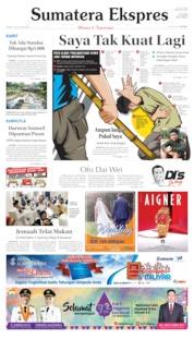 Cover Sumatera Ekspres 16 Juli 2019