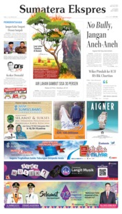 Sumatera Ekspres Cover 17 July 2019