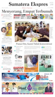 Sumatera Ekspres Cover 18 July 2019