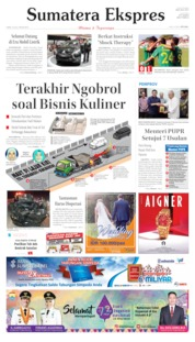 Sumatera Ekspres Cover 19 July 2019
