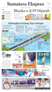 Sumatera Ekspres Cover 20 July 2019