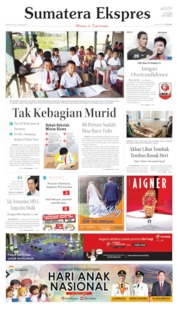 Cover Sumatera Ekspres 23 Juli 2019