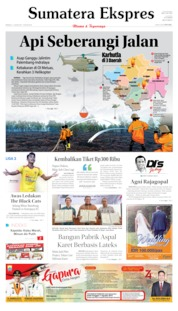 Sumatera Ekspres Cover 04 August 2019