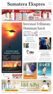 Sumatera Ekspres Cover 07 August 2019