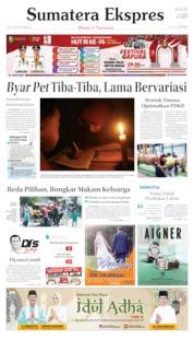 Sumatera Ekspres Cover 08 August 2019