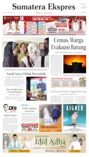 Sumatera Ekspres Cover 09 August 2019