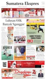 Cover Sumatera Ekspres 15 Agustus 2019
