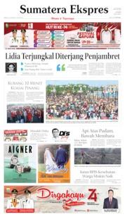Cover Sumatera Ekspres 18 Agustus 2019