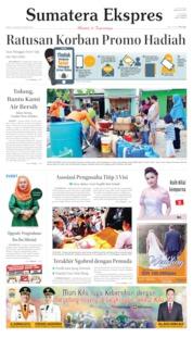 Sumatera Ekspres Cover 24 August 2019