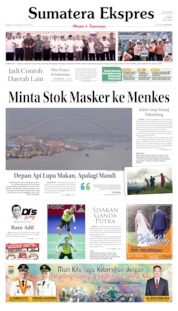 Cover Sumatera Ekspres 25 Agustus 2019