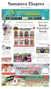Cover Sumatera Ekspres 15 September 2019