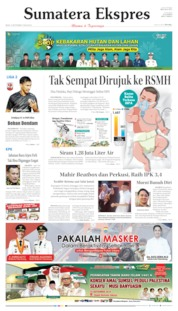 Cover Sumatera Ekspres 16 September 2019