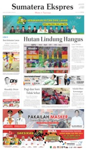 Sumatera Ekspres Cover 20 September 2019