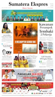 Cover Sumatera Ekspres 22 September 2019