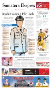 Cover Sumatera Ekspres 07 Oktober 2019