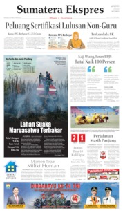 Sumatera Ekspres Cover 08 October 2019