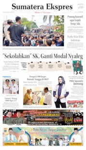 Sumatera Ekspres Cover 09 October 2019