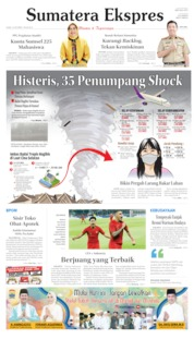 Sumatera Ekspres Cover 10 October 2019
