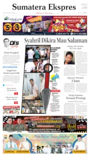 Sumatera Ekspres Cover 11 October 2019